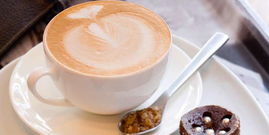 Koffie Art bij Saranne