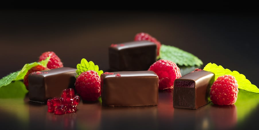 Saranne Chocolaterie Oisterwijk - bonbons frambozen