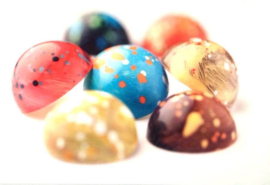Saranne chocolaterie - Picasso bonbons