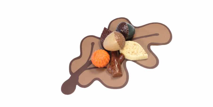 Saranne chocolade - herfstboeket