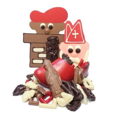 Sinterklaas bij Saranne | Chocolade strooigoed